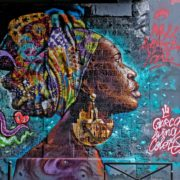 Moh Awudu au Festival Street Art Ourcq Living Colors, Edition 2019