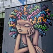 Vinie au Festival Street Art Ourcq Living Colors, Edition 2019