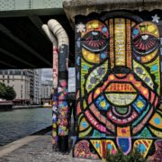 Da Cruz au Festival Street Art Ourcq Living Colors, Edition 2019