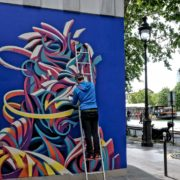 Shaka au Festival Street Art Ourcq Living Colors, Edition 2019