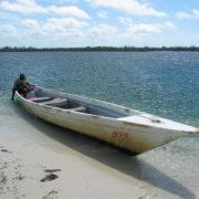 Kenya, Funzi, Notre bateau !