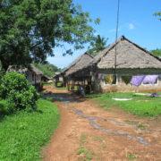 Kenya, Funzi, Le village de Funzi