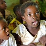 Kenya, Funzi, A l'école