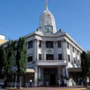 Kenya, Mombasa, Temple hindou Shri Swaminarayan Mandir