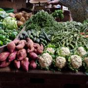 Kenya, Mombasa, Le marché municipal: