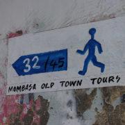 Kenya, Mombasa, Circuit touristique balisé