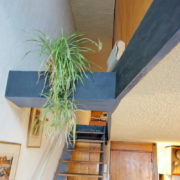 Le Corbusier, La maison radieuse de Rezé, L'appartement: l'escalier
