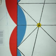 Le Corbusier, La maison radieuse de Rezé, L'appartement: fresque murale modulor