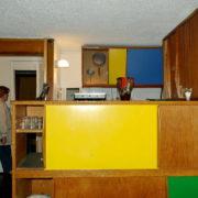 Le Corbusier, La maison radieuse de Rezé, L'appartement: cuisine et passe plats