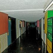 Le Corbusier, La maison radieuse de Rezé, Rue intérieure numéro 6