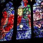 Cathédrale Saint-Étienne, vitrail de Marc Chagall (1959)