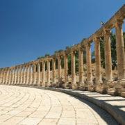 Colonnades du forum ovale