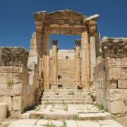 Les propylées du temple d'Artémis