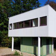Le Corbusier, la villa Savoye, La maison du gardien