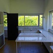 Le Corbusier, la villa Savoye, La cuisine - The kitchen