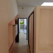 Le Corbusier, la villa Savoye, Dressing dans la chambre parentale