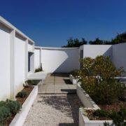 Le Corbusier, la villa Savoye, Sur le toit terrasse
