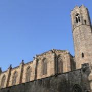 Barcelone, le clocher de la Capella Reial de Santa Agata