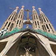 Barcelone, Sagrada Familia, façade de la Passion