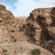 Aux environs de Petra