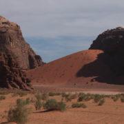 Dunes de sable rouge