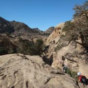 Trek vers le Petit Petra
