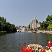 Canal de Nantes à Brest et Chateau de Josselin