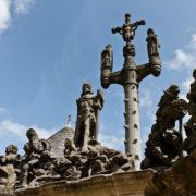le grand calvaire de Guimiliau, édifié de 1581 à 1588