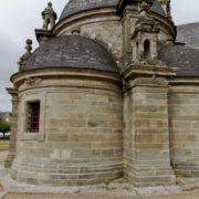 Pleyben: La sacristie