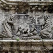 Pleyben: détail des scènes du calvaire