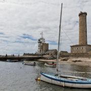 Le semaphore et l'ancien phare de Penmarc'h (1831)