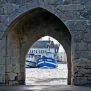 Porte des Vins, date de la restructuration des remparts au XVe