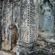 Quelques sculptures ont été rapportées postérieurement à la construction du temple.