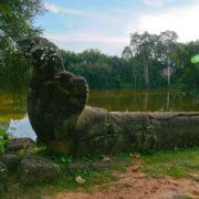 Les douves de Bakong