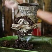 Préparation de la pâte de cacao
