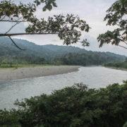 Rio Yorkin, Frontière Costa-Rica Panama
