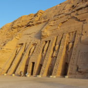 Abou Simbel - temple d'Hathor dédié à Nefertari
