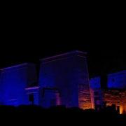 Son et lumieres à Philae