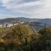 La citadelle de Besancon vue du fort Chaudanne