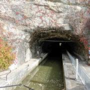 Le tunnel du canal du Rhône au Rhin, sous la citadelle