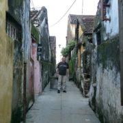 Dans une ruelle