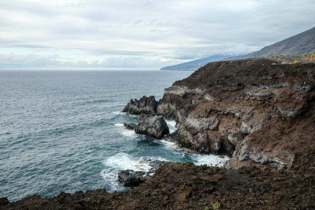 Cote rocheuse à Las Indias